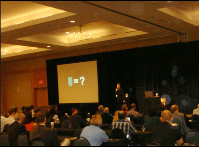 Colin Wiebe speaking at Canadian Marketing Summit