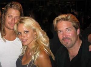Kid Rock Pam Anderson & Colin Wiebe